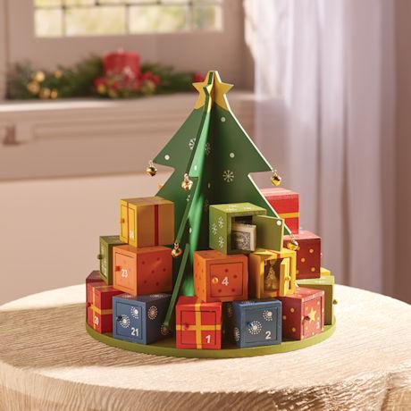Christmas Gifts Around the Tree Advent Calendar