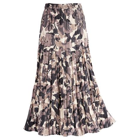 Reversible Leafy Broomstick Skirt