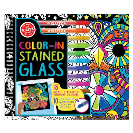 Color-In Stained Glass Kit