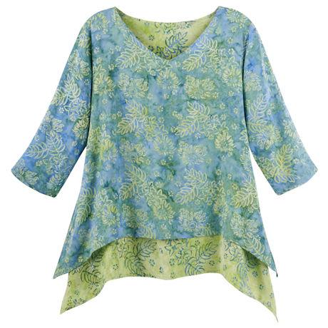 Layered Batik Tunic