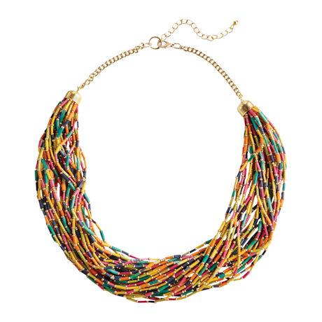 Grass Bead Necklace