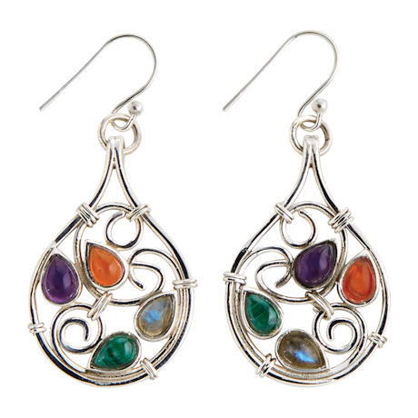 Baroque Swirls Earrings