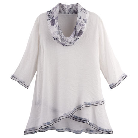 Light and Shadows Crossover Tunic