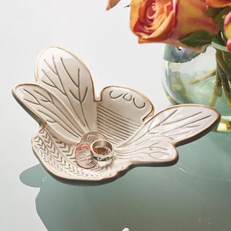 Ceramic Honeybee Dish