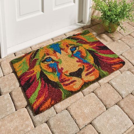 Lion Doormat