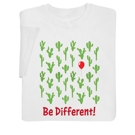 Be Different Shirts