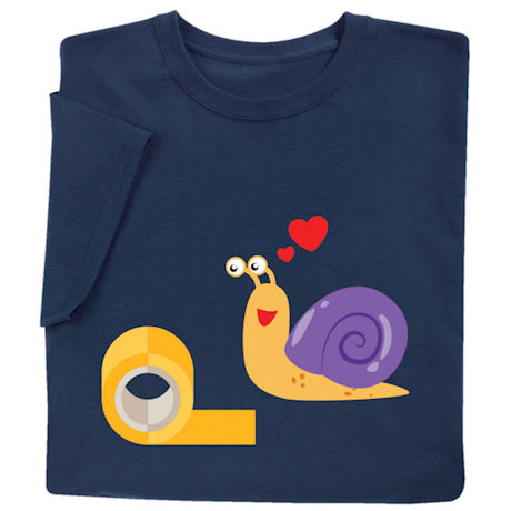 Snail & Tape Love Shirts