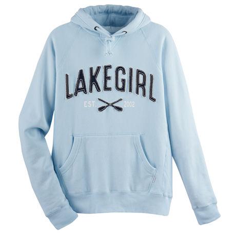 Lake Girl Hooded Sweatshirt