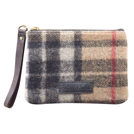 Scottish Tartan Wristlet