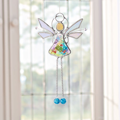 Fairy Stained Glass Suncatcher