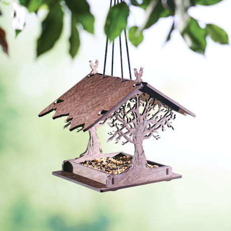 Enchanted Forest Bird Feeder
