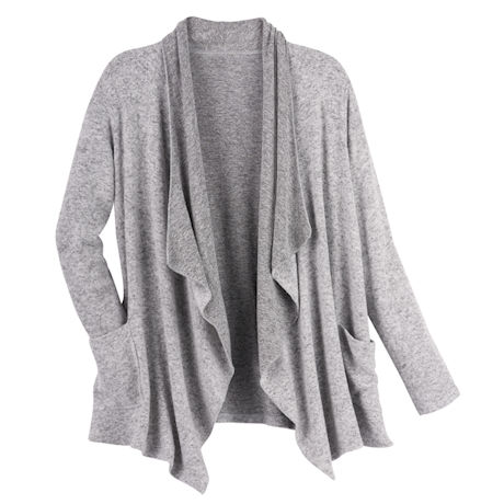 Fleece Flyaway Lounge Cardigan