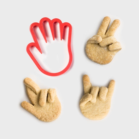 Hand-Shaped Cookie Cutter