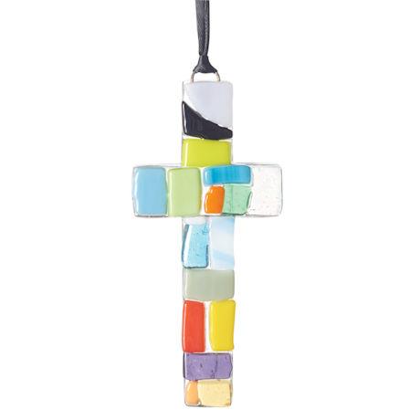Beautifully Remembered Mosaic Cross