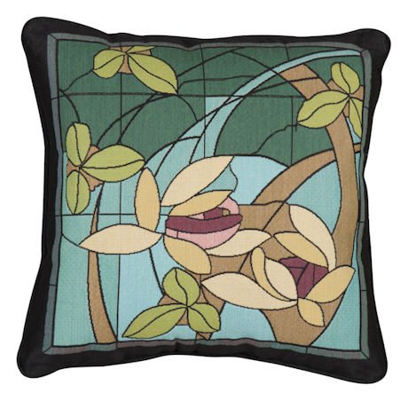 Vines and Flowers Pillow