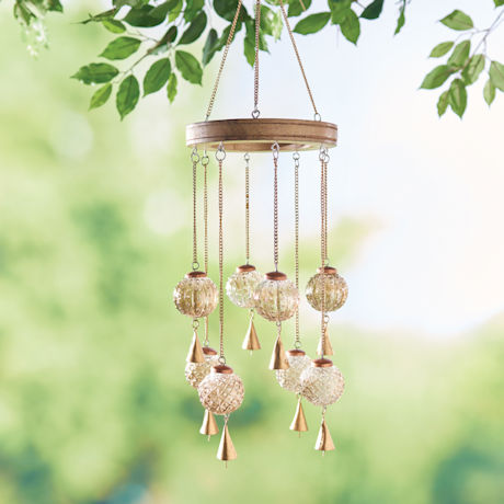 Glass Balls Wind Chime