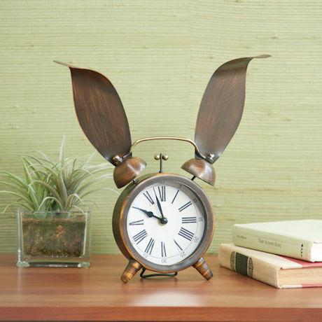 Bunny Ears Clock