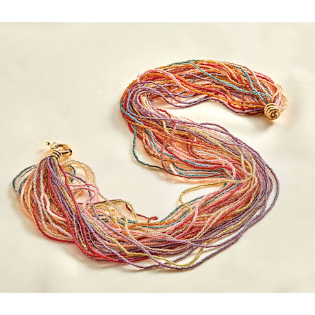 Murano Glass Twist Necklace