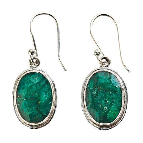 Royal Emerald Earrings
