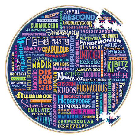 100 Great Words Jigsaw Puzzle