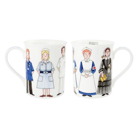 Tribute to Nurses Mug