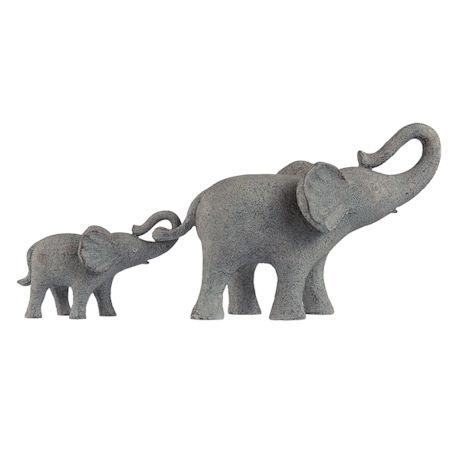 Mama and Baby Elephant Pair