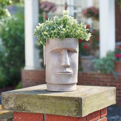 Moai Planter