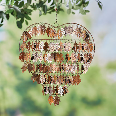 Oak Leaves Wind Chime
