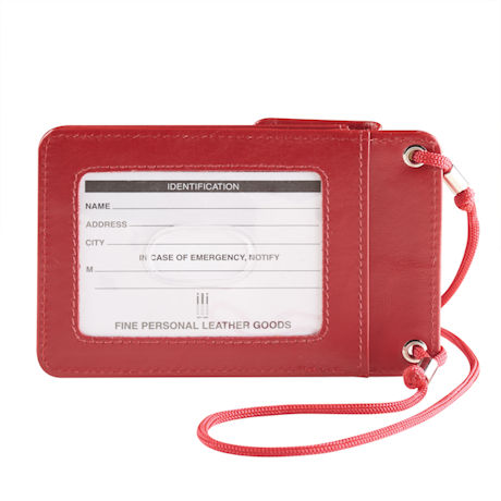 Leather RFID Credit Card and ID Holder