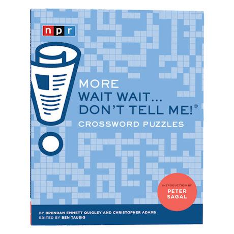 Wait Wait...Don't Tell Me® Crossword Puzzle Book Set