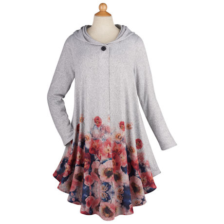 Poppies Sweater Duster