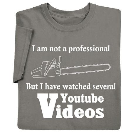 I Am Not a Professional Shirts