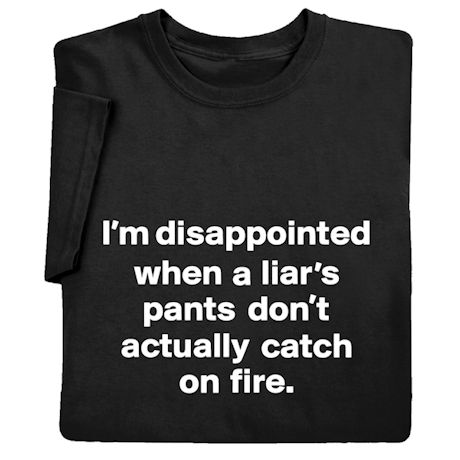I'm Disappointed Shirts