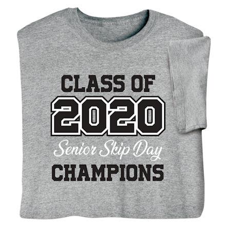 Class of 2020 Senior Skip Day Champion Shirts
