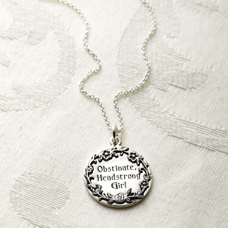 Obstinate, Headstrong Girl Necklace