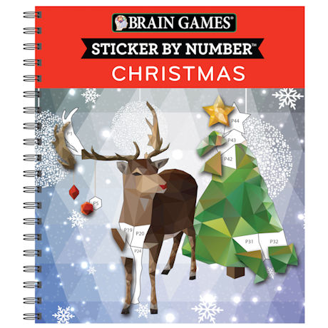 Christmas Sticker and Coloring Book Set