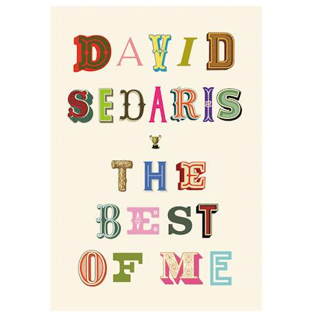 David Sedaris: The Best of Me Unsigned Edition