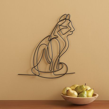 Seated Cat Wall Art