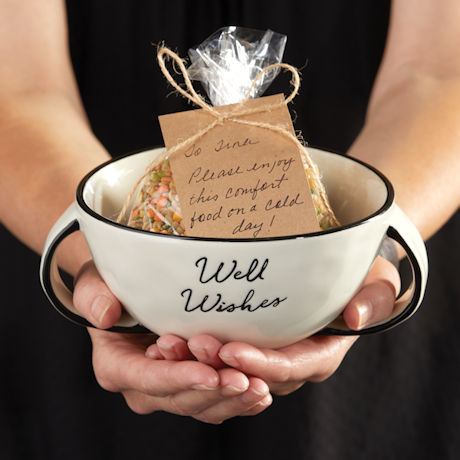 Well Wishes Handled Soup Bowl