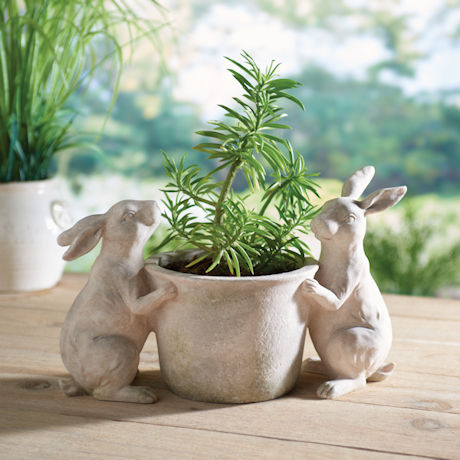 Rabbits Planter