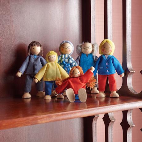 City Family Puppets Set