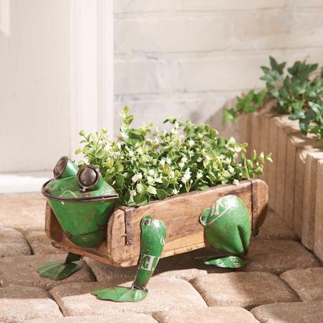 Frog Flower Box