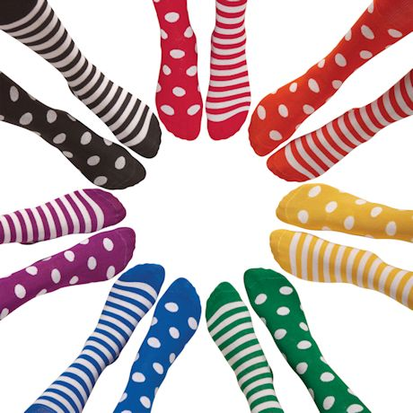 Stripes and Polka Dots Socks Collection