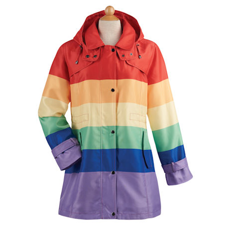 Rainbow Car Coat