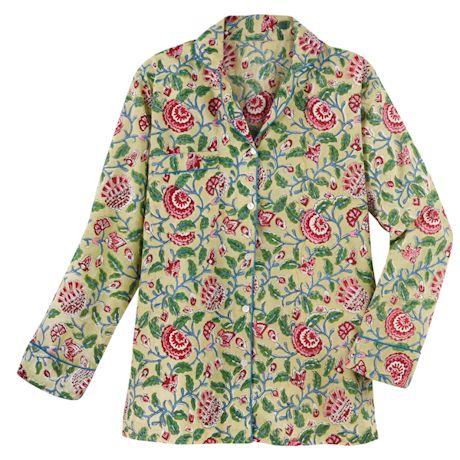 Pink Poppies Pajamas