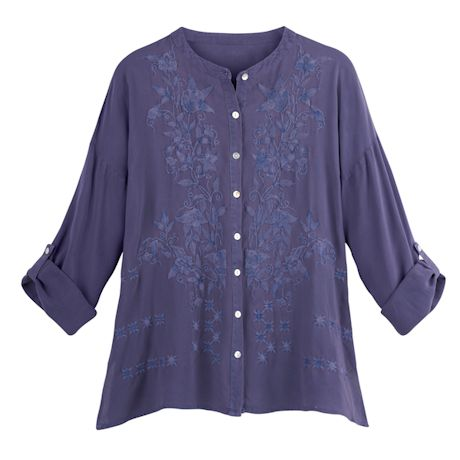 Helena Embroidered Blouse