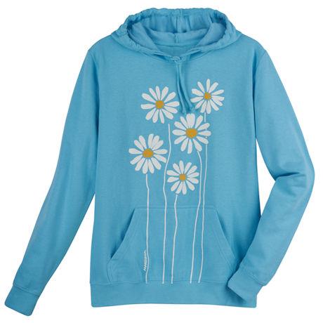 Marushka Happy Daisies Hooded Sweatshirt