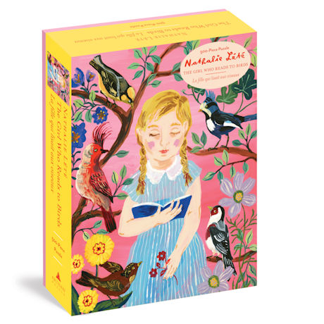 Girl Who Reads to Birds Puzzle