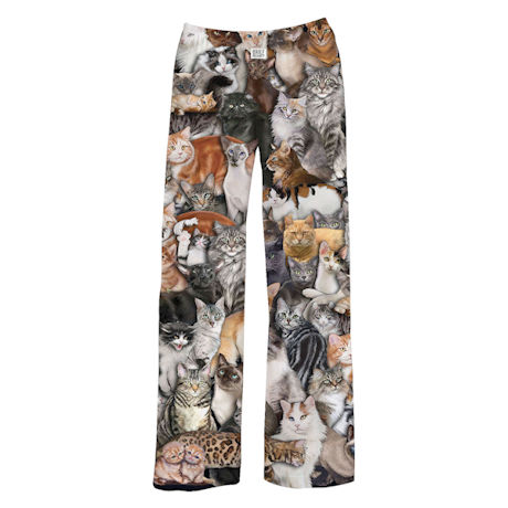 Photorealistic Cat Lounge Pants