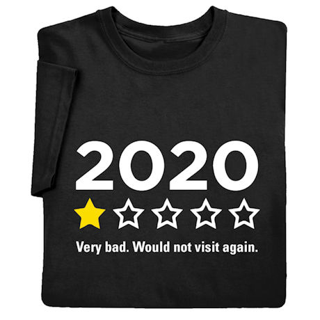 One-Star Review 2020 Shirts